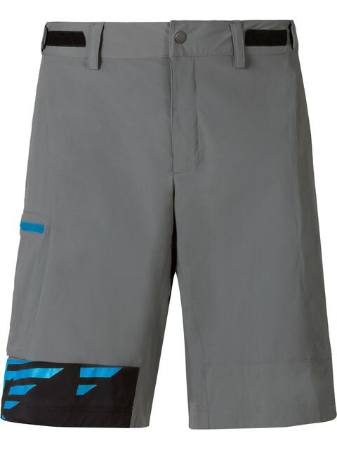 Odlo Morzine Spodnie rowerowe Mężczyźni żółty/szary